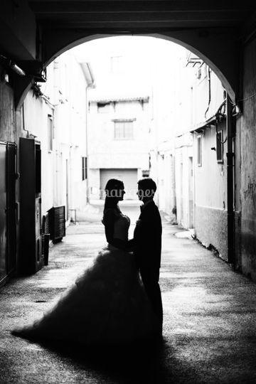 Couple Mariés Photographe Nice