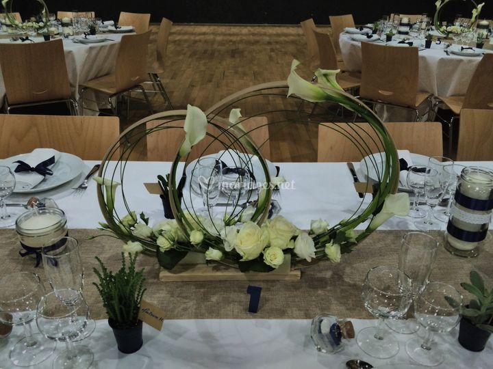 Composition table d'honneur