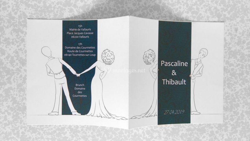 Pascaline et Thibault