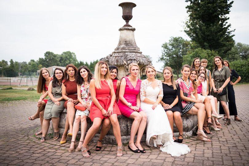 Photo de groupe demoiselles