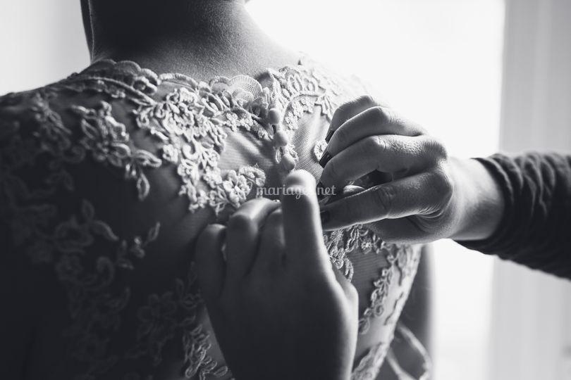 Préparatif de la mariée 4