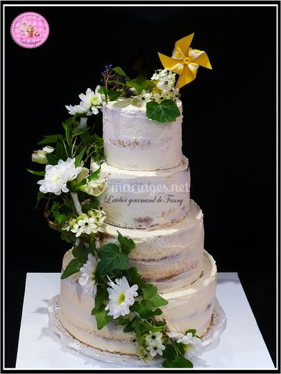 Nude Cake Mangue-poire