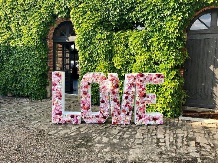 Love fleuri