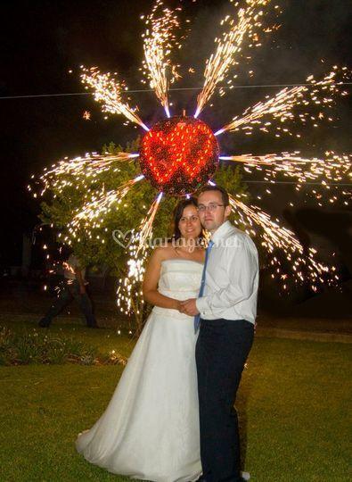 Coeur des mariés