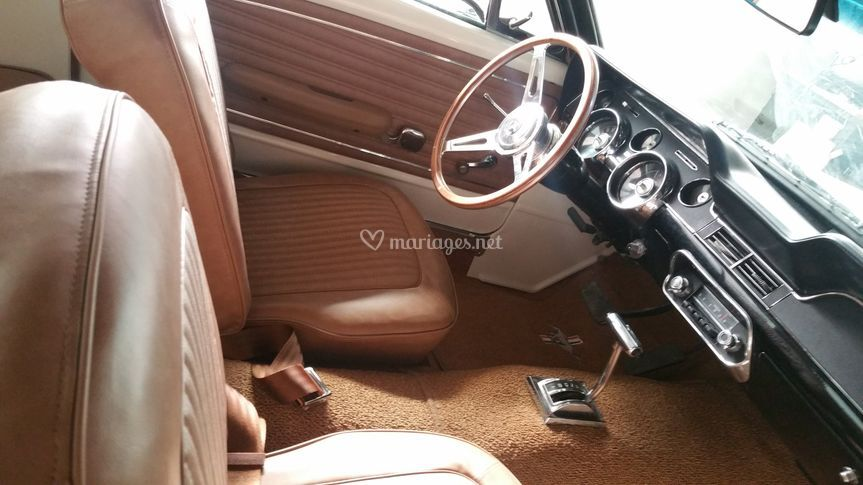 Mariage en Ford Mustang