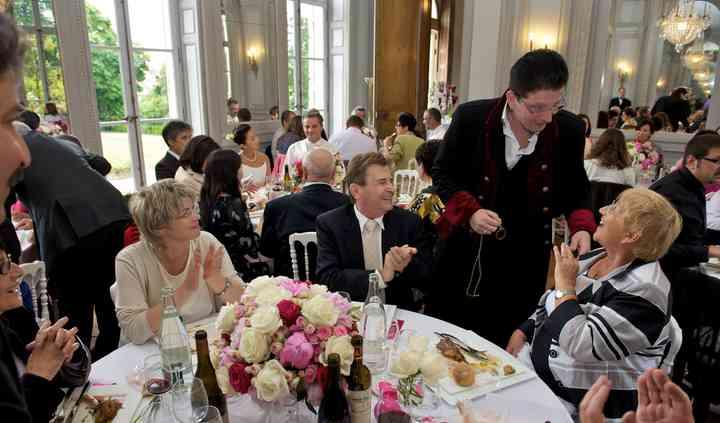 Mariage table en table
