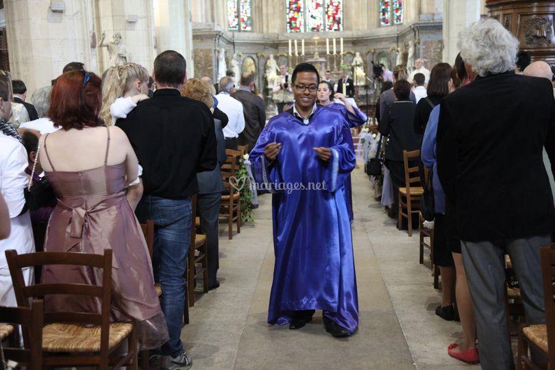 Chorus Wedding