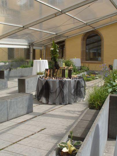 Buffet dinatoire, BPL, Abbaye