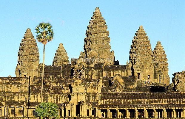 Le majestueux temple d'Angkor