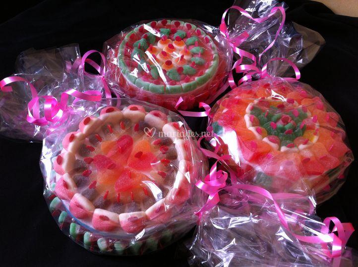 Mini gâteaux de bonbons