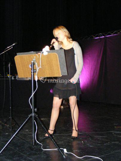 Chanteuse Mélanie