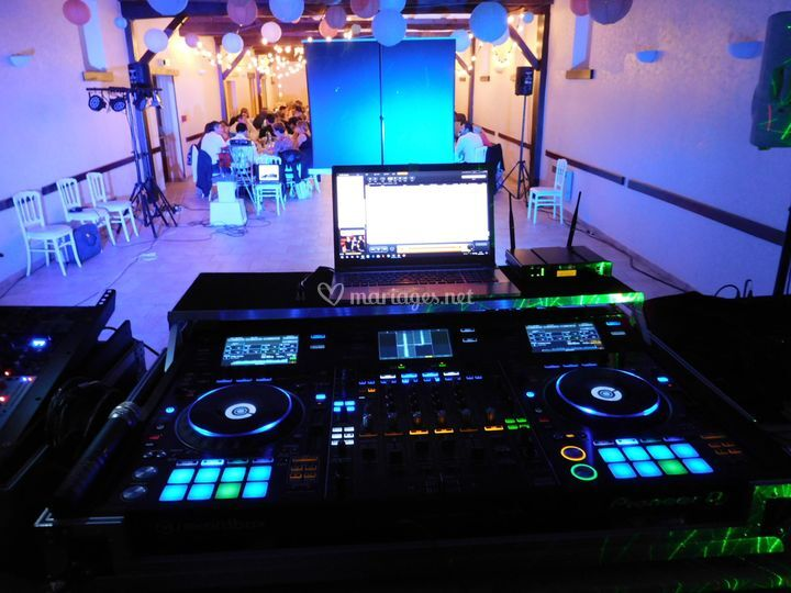 Console DJ et vidéo Pioneer