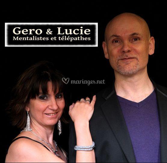 Gero & Lucie - Mentalistes et Télépathes