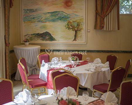 Une salle élégante