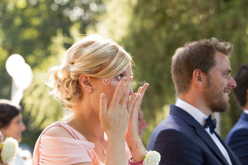 Larmes mariage