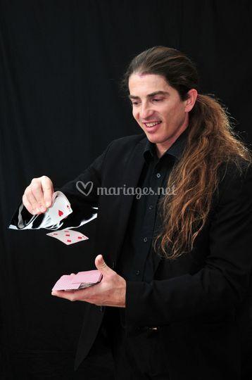 Magicien Sylvain  Botello