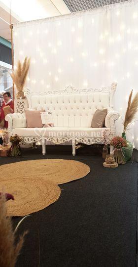 Le trône assise 2 place