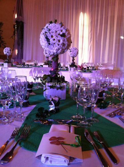 Table réception Avallrich