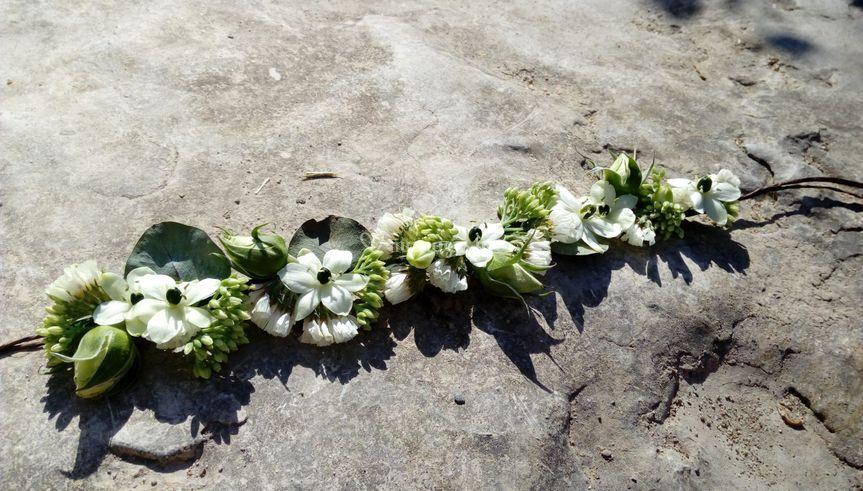 Bijoux de fleur mariage