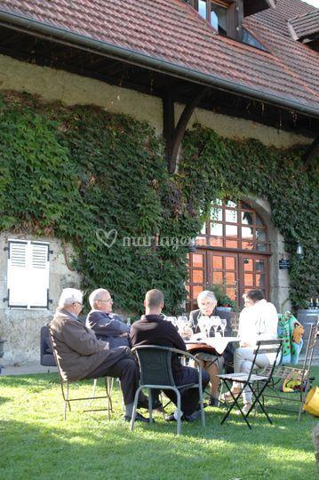 Déjeuner sur herbe