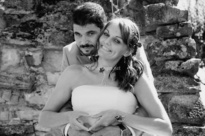 Photos de couple mariage ete