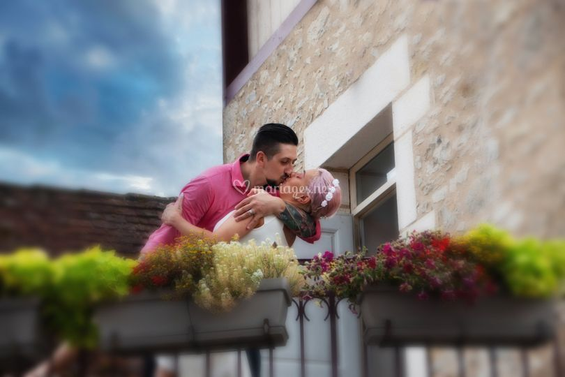 Mariage été baiser