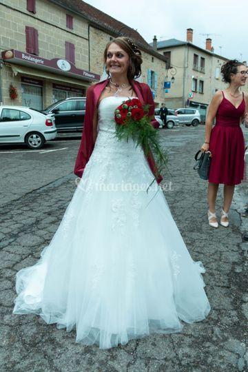 La mariée mariage été
