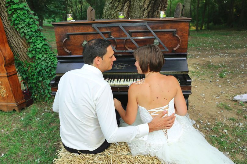 Couple au piano