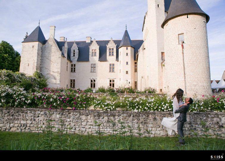 mariage sur chteau du rivau - Chateau Du Rivau Mariage