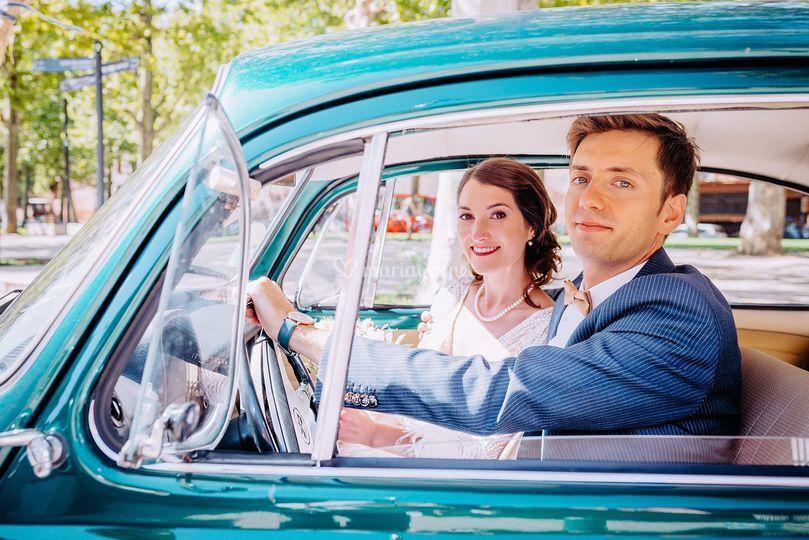 La marié au volant