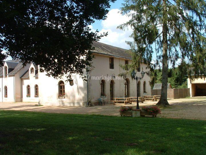 Pavillon Racan façade sud