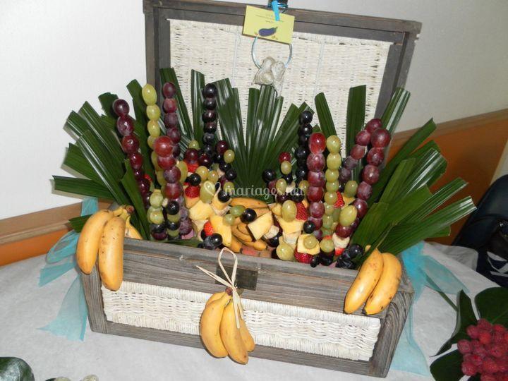 Décoration de fruits