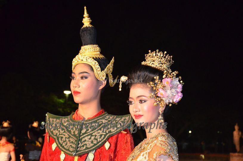 Traditionnel thaïlandais