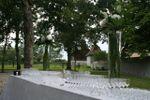 Le parc sur Le Domaine de Poudep�