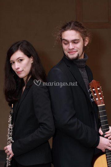 Duo hautbois et guitare
