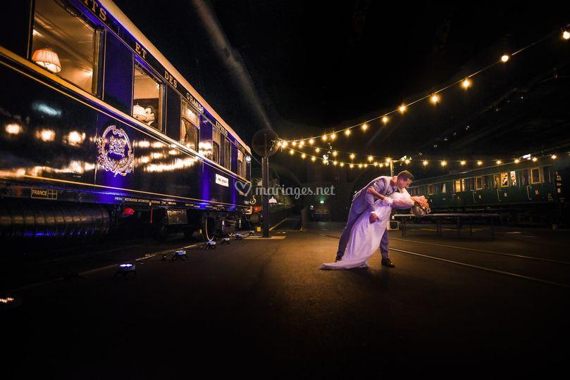 Mariage à la Cité du Train