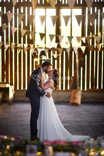 Mariage dans une grange