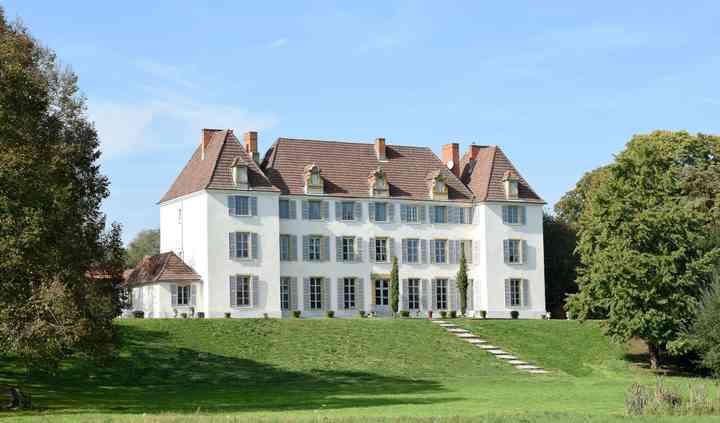 Château de Matel vu du Parc