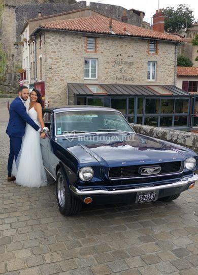 Coupé Mustang 66