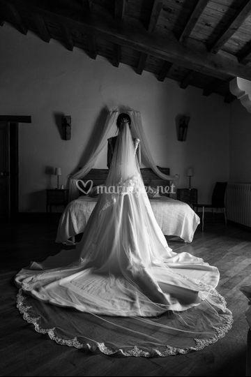 La mariée est fin prête