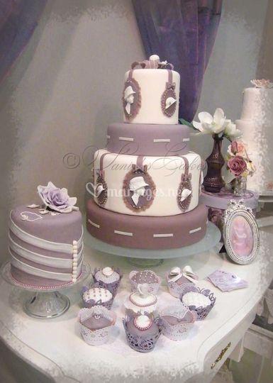 Medaillon Pour Wedding Cake