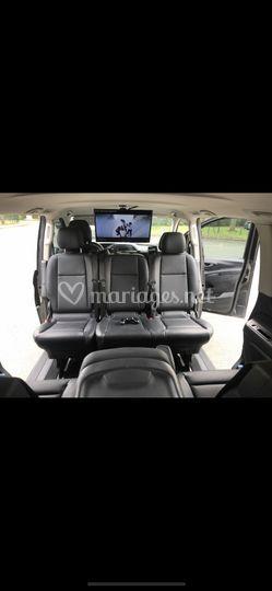 Mercedes Classe V avec pack TV