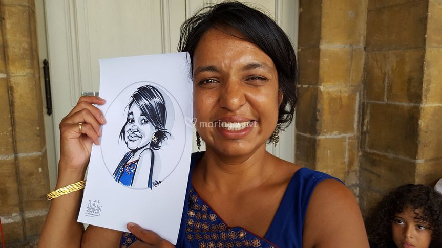 Caricature indienne