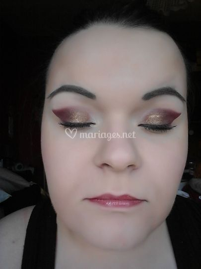 Maquillage soirée / Libanais