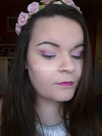 Maquillage couleur