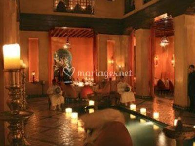 Salle de mariage marocaine