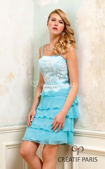 Robe cocktail divers coloris