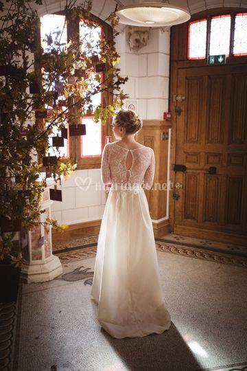 Une jolie mariée d'automne
