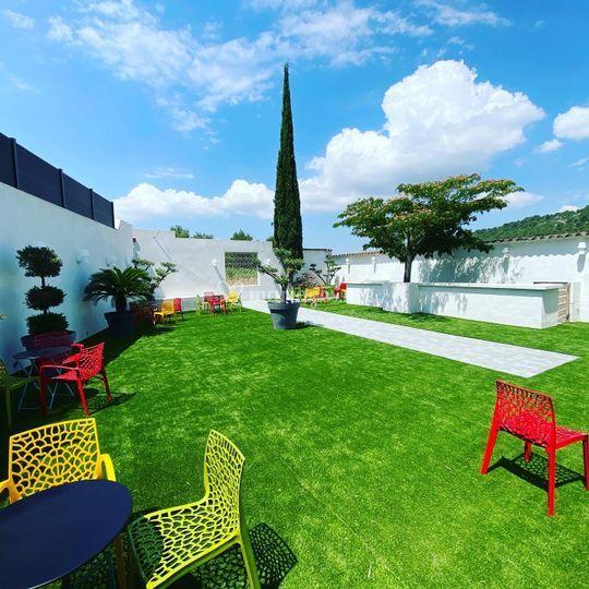 Nouveau patio extérieur 2020