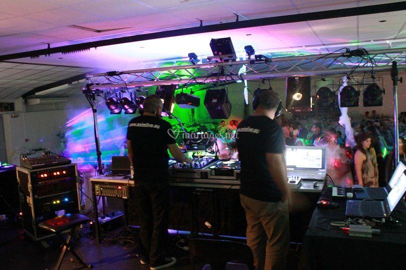 DJ Luka and VJ Xav